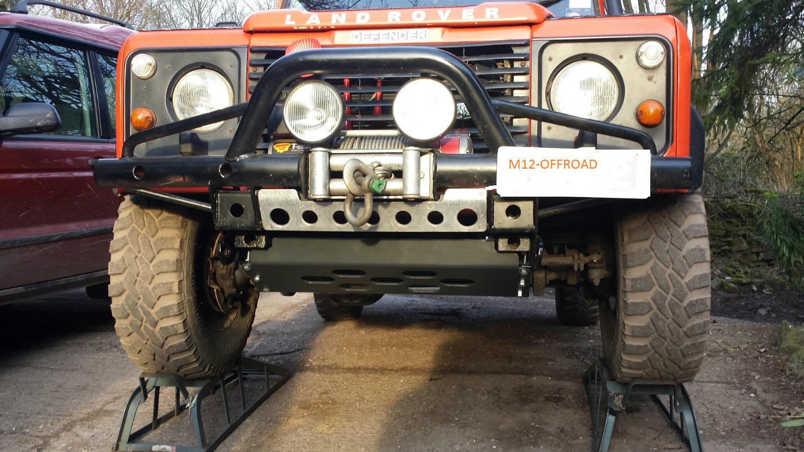 Trasero Paso-Land Rover Discovery//Defender-recubierto de polvo negro-BA 172B
