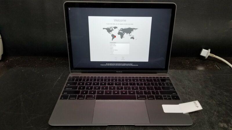 """Apple MacBook MF855LL/A Core M 1.1 12"""" 8GB 256GB SSD"""