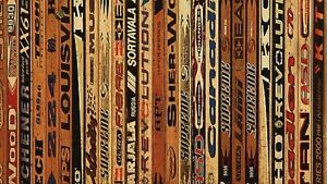 Wanted: old/broken wood hockey sticks