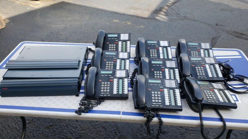 Avaya IP Office 500V2 Business Phone System/9 Phones