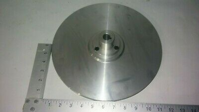 Flat 12 In Aluminum T6061 34 Bore Arbor For Disc Grinders Face Plate Part Diy