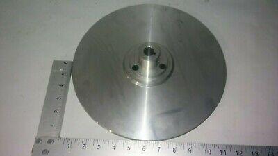 Flat 12 In Aluminum T6061 34 Bore Arbor For Disc Grinders Face Plate Part Diy