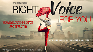 Right Voice For You  3-day workshop - Unleash you!