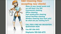 Need it cleaned now? Call us for great rates!!