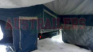7x4 Camper trailer with huge tent top ready to go this Christmas! Clontarf Redcliffe Area Preview