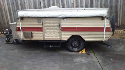 Jayco Camper Trailer with annex Doncaster Manningham Area Preview