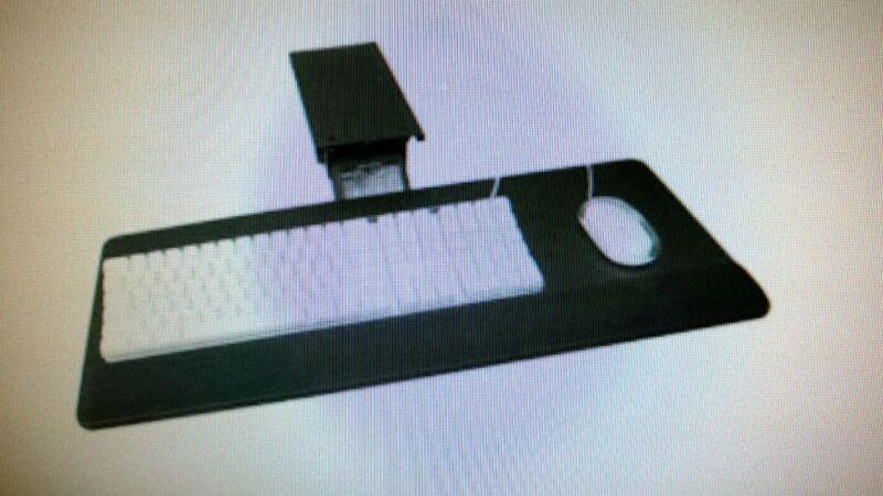 "Comfort Keyboard Tray (Fully Adjustable) "" LARGE TRAY"""