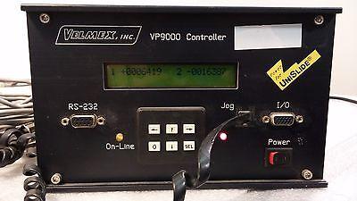 Velmex Vp9000 9003 Stepping Motor Controller Unislide