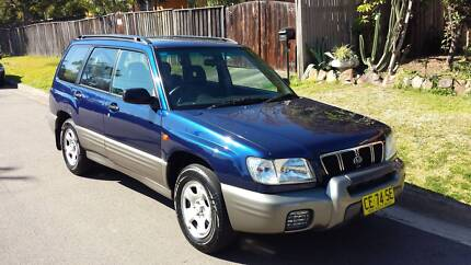 Forester 2002 1 year rego Homebush West Strathfield Area Preview