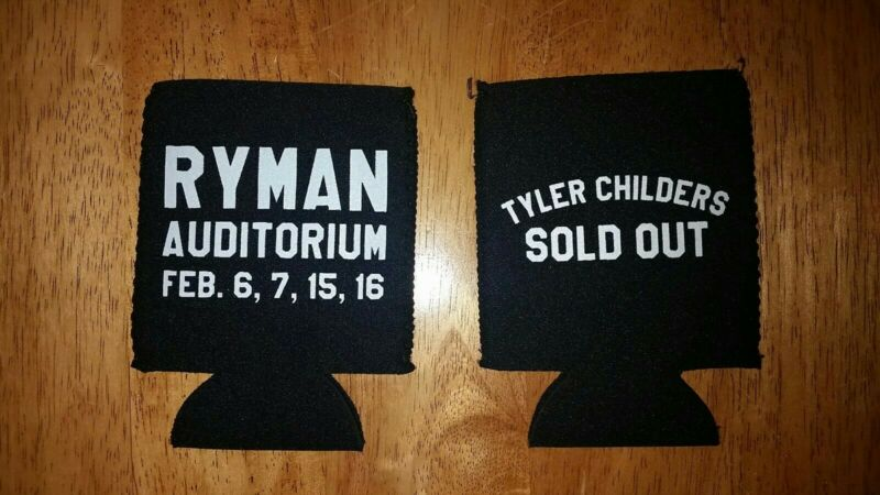 Authentic TYLER CHILDERS Ryman SOLD OUT Show Nashville 2020 Beer Coke Can Koozie