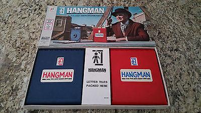 Vintage Hangman Board Game  04   1976 Milton Bradley   100  Complete  Collector
