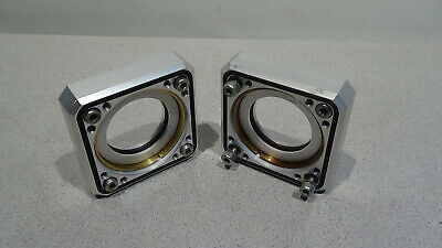 Lambda Physik Novaline Pair Of Mounted Brewster Windows With Warranty