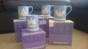 4 Wedgwood special edition 1970s Christmas mugs North Sydney North Sydney Area Preview