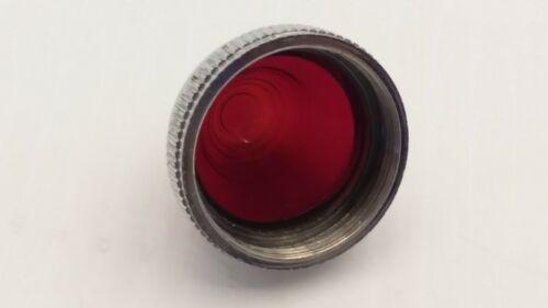 CUTLER HAMMER 10250TC13 LENS CAP RED GLASS PILOT LIGHT