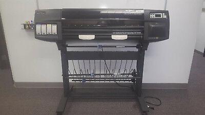 Hewlett Packard Hp Designjet 1050c Plus 36 Large Wide Format Printer