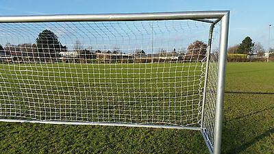 Fußball Jugend Tornetz 5x2m oben 80 unten 150 Stärke 3mm weiß