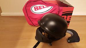 Matte black Bell rogue helmet size L Rosslyn Park Burnside Area Preview