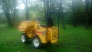 barford hdx 1000 4x4 high tip 1 ton dumper