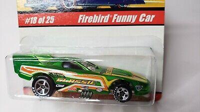 Hot Wheels Classics Firebird Funny Car Green   MOC Unopened Series 1 #18 2005