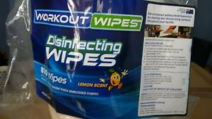 WORKOUT WIPES Thornton Maitland Area Preview