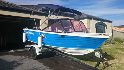 Stacer Runabout 14ft - Immaculate Condition Baldivis Rockingham Area Preview