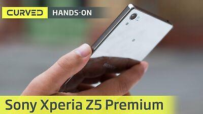 "New *UNOPENED* Sony Xperia Z5 Premium DUAL SIM E6883 5.5"" Smartphone/Chrome/32GB"
