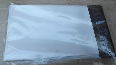 """50 ,6"""" X 9"""",SELF ADHESIVE WHITE TEAR PROOF POLY OLEFIN MAILER ENVELOPES.7.5."""