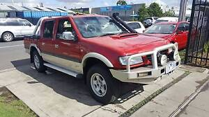 2002 Holden Rodeo LT Sport Duel Cab Ute TURBO DIESEL 4X4 EXTRAS Williamstown North Hobsons Bay Area Preview