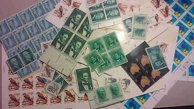 New Cute lot of 100 of 1¢ / 1 cent USPS Vintage Postage stamps. Face Value $1.00