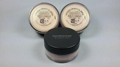 (3X) BareMinerals Original SPF25 Mineral Veil 0.21oz. Unboxed  * Export Label *