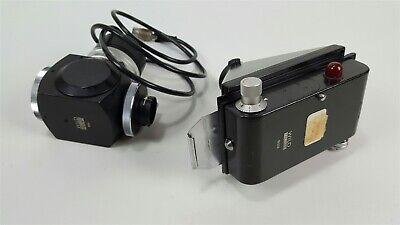Wild Heerbrugg Microscope Camera Shutter Light Assembly 1105 11323