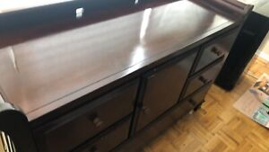 Brian Gluckstein chest of drawer changing table