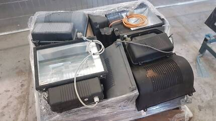 Various used flood lamps $20 each discount for more