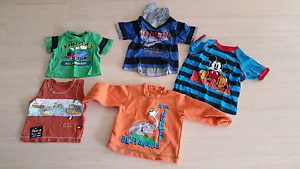 Free assorted baby boys shirt size 0 up to 3 Riverstone Blacktown Area Preview