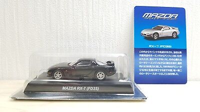 Kyosho 1/64 MAZDA RX-7 FD3S BLACK diecast car model