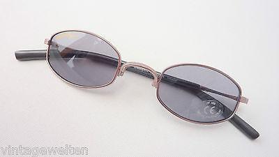Alpina serious fun stylishe Sonnenbrille kleine Form graublaue Gläser Grösse M