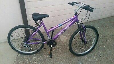 MAGNA GREAT DIVIDE GIRLS 21 SPEED MOUNTAIN BIKE - Purple. + Front Shocks