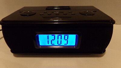 Jensen JiMS-105 MP3 iPod Music System Digital Dock Docking Speaker Clock