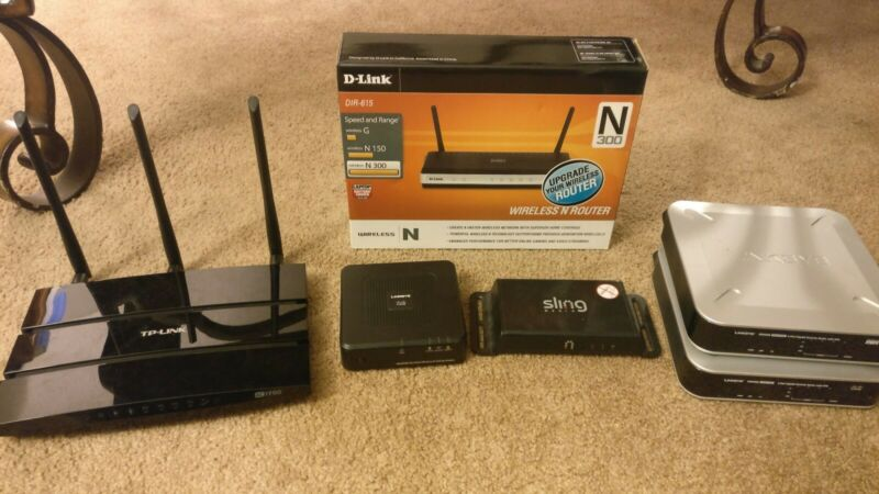 Router/electronics Lot ~SEE DETAILS