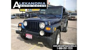 2005 Jeep TJ Sport/RUST FREE/safety included/new tires