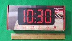 NEW, DreamSky Large Digital Alarm Clock, DS306WB