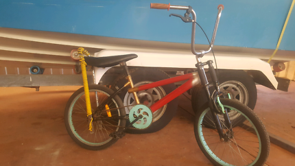 Custom built & painted bmx/dragster