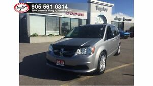2013 Dodge Grand Caravan SXT w/Navigation, DVD, Bluetooth, Rear