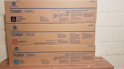 3 Konica Minolta TN 611 - B/M//C:A04P 150/ /350/450 - B Ware -2