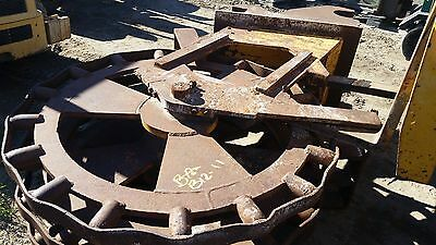 18 Compaction Wheel For Large Excavator With Quick Coupler- Gd Condition