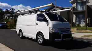 2015 TOYOTA HIACE LWB D4D AUTOMATIC Wetherill Park Fairfield Area Preview