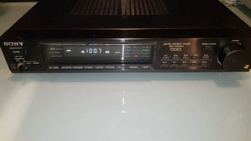 SONY ST-S730ES Stereo Tuner, Excellent Condition, Made In Japan