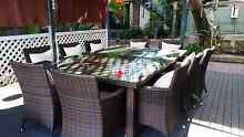 10 seater outdoor dining setting Lugarno Hurstville Area Preview