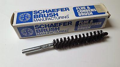 Dia Flue Brushes (SCHAEFER FLUE & CONDENSER BRUSH 43722 3/4 DIA. NYLON CONDENSER BRUSH)