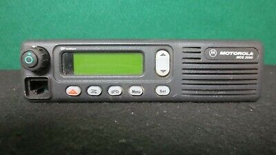Motorola Mcs 2000 Mobile Radio 800mhz Uhf 250 Channels M01hx812w